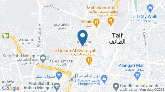 OYO 236 Al Wethenani Apartment Map