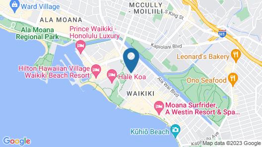Hotel LaCroix Map