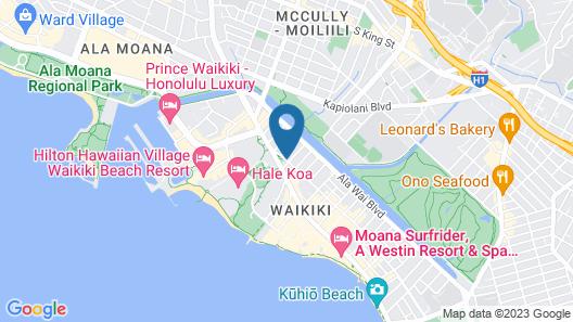 Holiday Inn Express Waikiki Map
