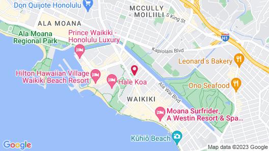 Holiday Inn Express Waikiki, an IHG Hotel Map