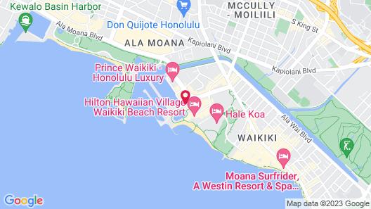 Grand Waikikian by Hilton Grand Vacations Map