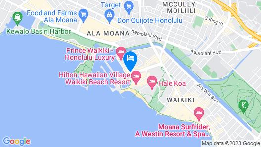 Ilikai Hotel Condo Vacations Map