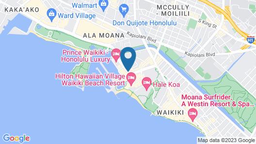 Ilikai Lite Map