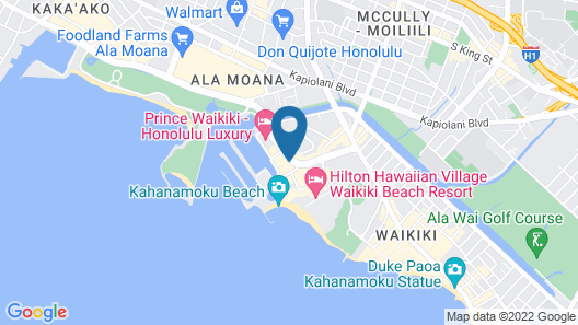 Waikiki Marina Resort at the Ilikai Map