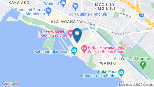 Ilikai Hotel & Luxury Suites Map