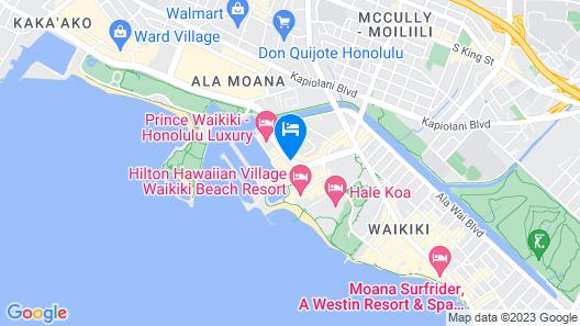 Ilikai Hotel & Luxury Suites Map