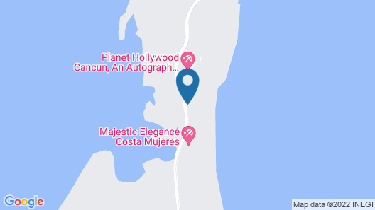 Catalonia Costa Mujeres All Suites & Spa - All Inclusive Map
