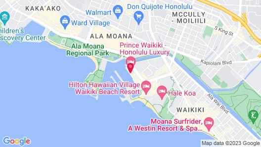 Prince Waikiki Map