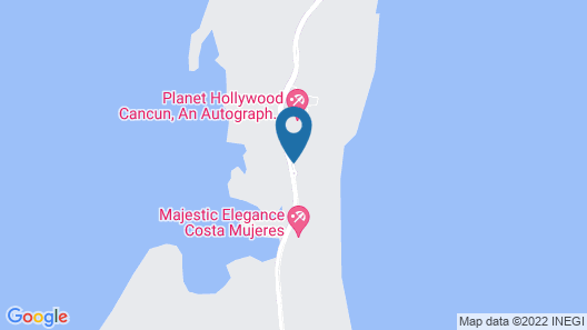 Majestic Elegance Costa Mujeres – All Inclusive Map