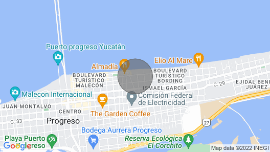 Top location in an oasis, you will not want to leave-Walk to beach & restaurants Map