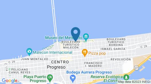 Hotel & Suites Domani Map