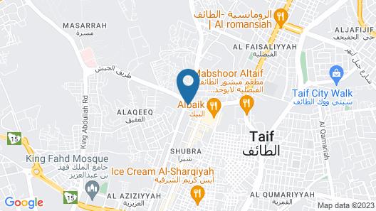 Sadeem Al Fajr Hotel Suites Map