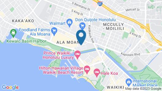 Ala Moana Hotel Map