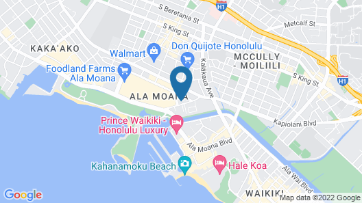 Ala Moana Hotel by AirPads Map