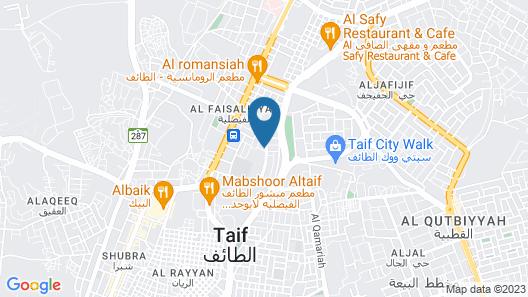 Awaliv Suites Map
