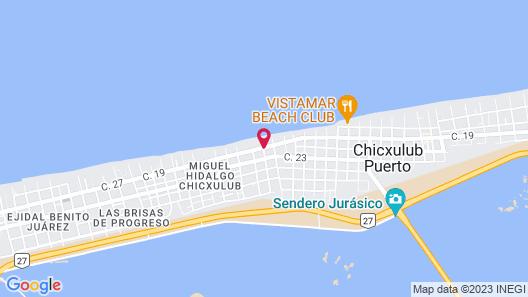 Villas Yessenia Map