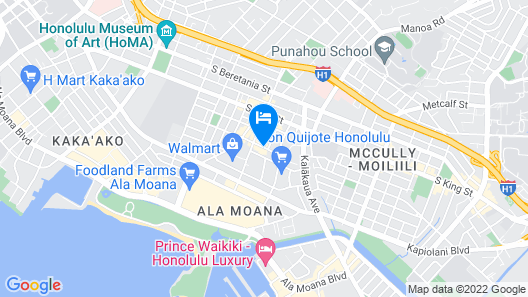 Pagoda Hotel Map
