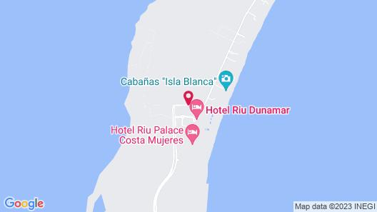 Riu Dunamar All Inclusive Map