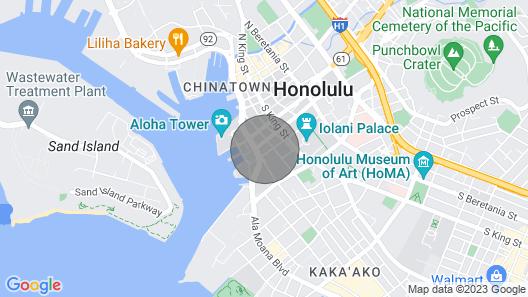 NEW! Upscale Downtown Honolulu Condo w/ Balcony! Map