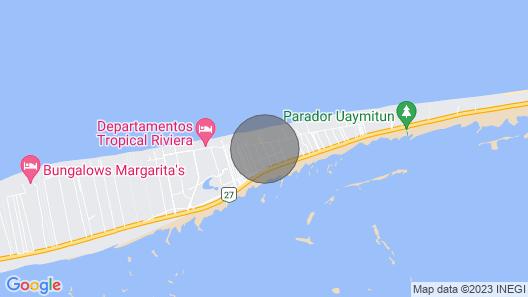 Casa Xmana - Bwellcome Colección Playa Map