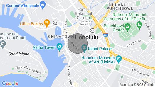 Spacious Downtown Executive Retreat Free Parking Map