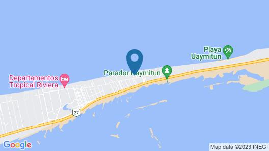 Iz Cay Luxury Ocean Front Villa Map