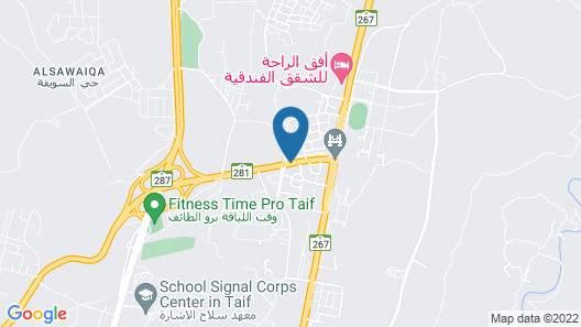 Dar Al Taif Suites Furnished Apartments Map