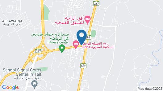 Alsaab Suites Map