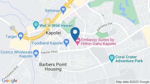Embassy Suites By Hilton Oahu Kapolei Map