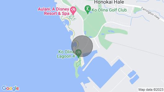 Marriott's Ko Olina Beach Resort 3 Bedroom Ocean View Villa Map