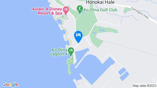 Marriott's Ko'Olina Beach Club Map