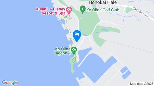 Marriott's Ko Olina Beach Club 2 Bedroom Mountain View Map