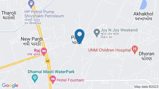 Sapphero Harshraj Resort Map