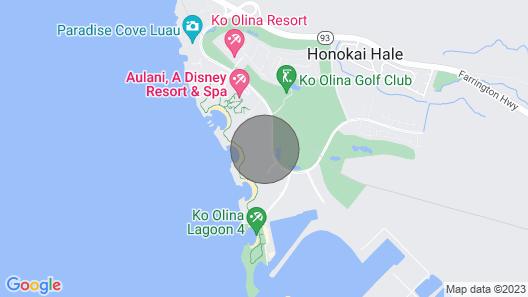 Ko Olina Beach Luxury Villa Rental, West Oahu, Hawaii Map