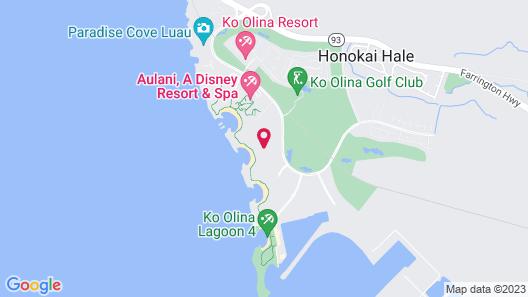 The Beach Villas at Ko Olina by Real Select Vacations Map