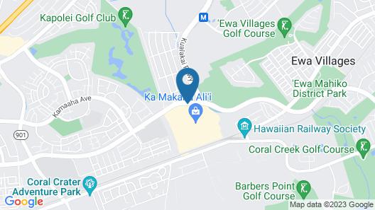 Hampton Inn & Suites Oahu/Kapolei Map