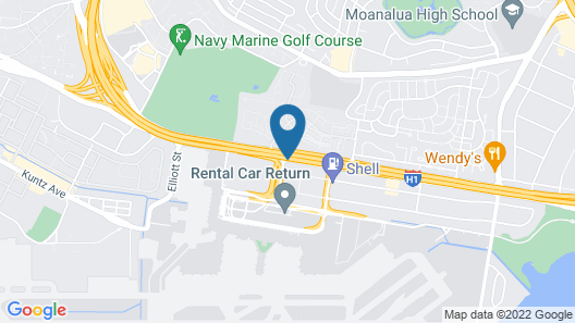 Airport Honolulu Hotel Map