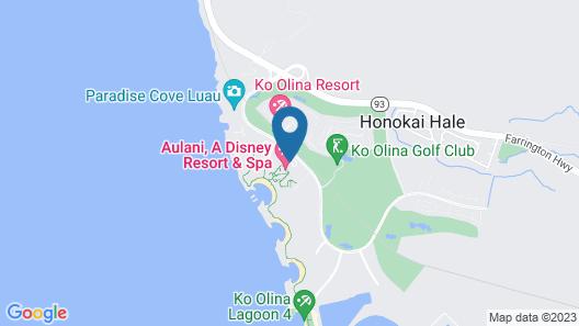 Aulani, A Disney Resort & Spa Map