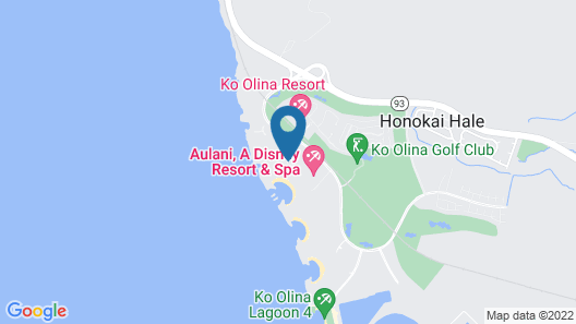 Four Seasons Resort Oahu at Ko Olina Map