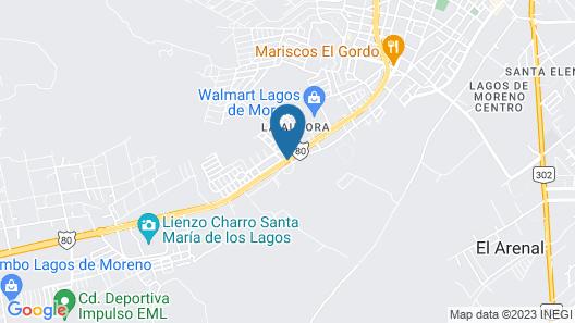 Scala Hotel Map
