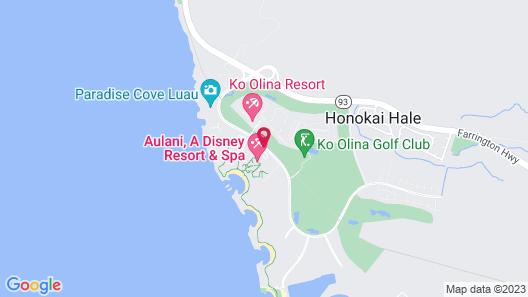 Aulani, Disney Vacation Club Villas Map