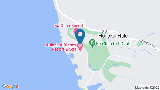 Aulani, Disney Vacation Club Villas Map
