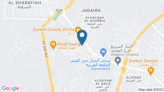 Toot House Taif Map