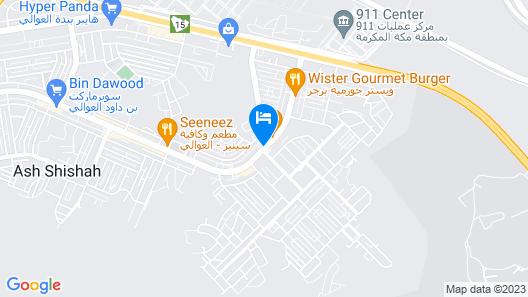 Al Eairy Furnished Apartments Makkah 5 Map