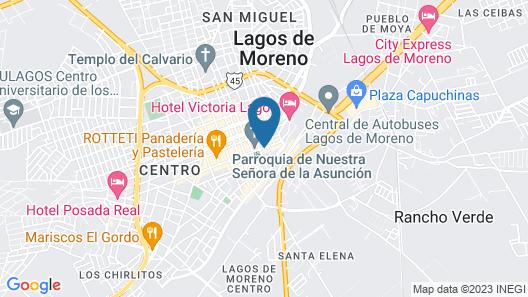Hotel Colonial Restaurante & Bar Map