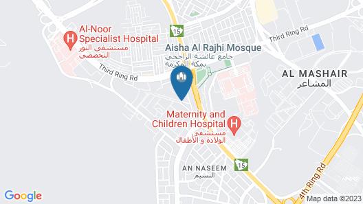 Four Points by Sheraton Makkah Al Naseem Map
