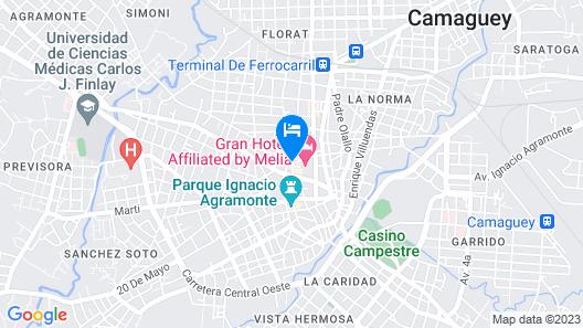Hostal Carmencita - Twin Room With Private Bathroom Map