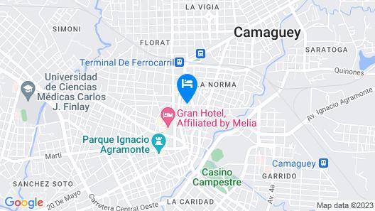 Casa Caridad Map