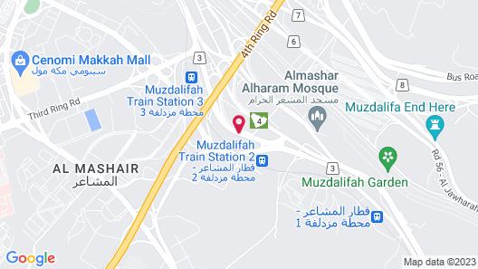 Mawaddah Al Baraka Hotel Map