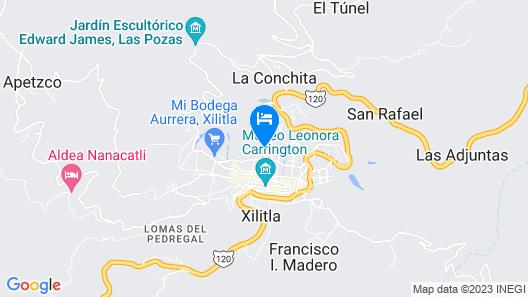 Camino Surreal Xilitla Map